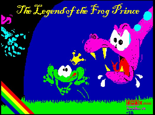 The Legend Of The Frog Prince por Gabriele Amore