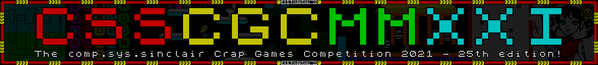Crap Games Competition 2021